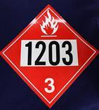 United Sign Company 1203 (Gas) Diamond Decal