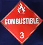 United Sign Company Combustible Diamond Decal