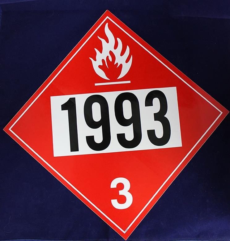 Diamond Decals United Sign Company 1993 Diesel Diamond