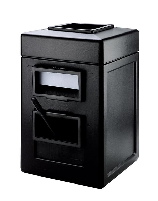 Waste Containers Dci Commercial Zone Products Black